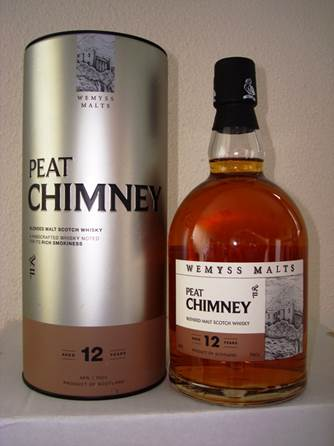 Wemyss Malts Peat Chimney 12 years old